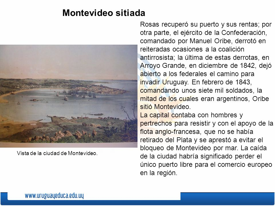 Montevideo sitiada