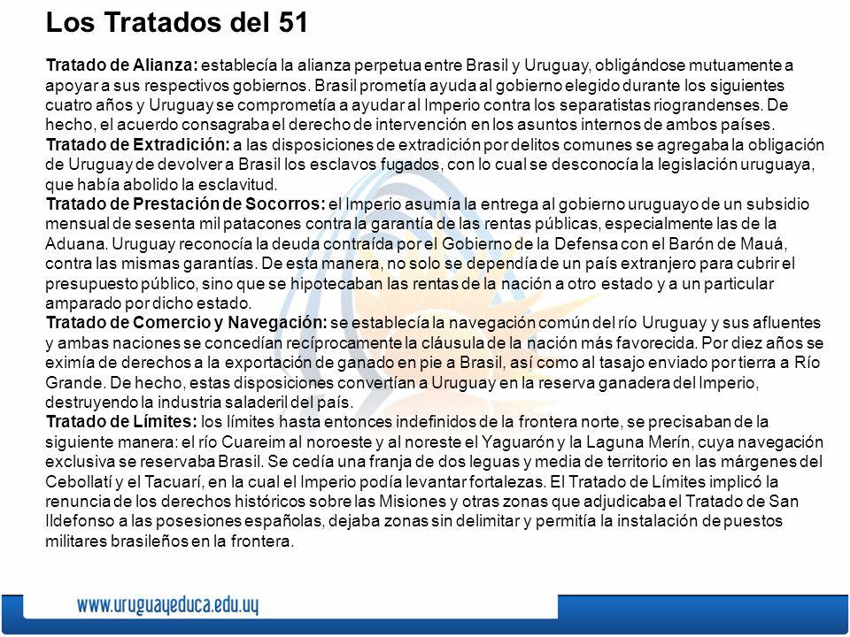 Los Tratados del 51
