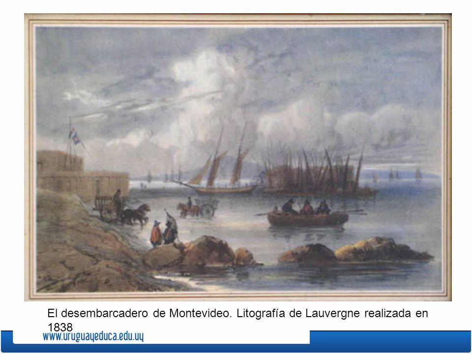 El desembarcadero de Montevideo