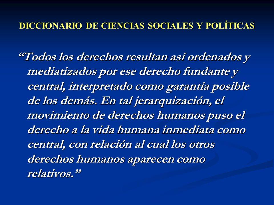 DICCIONARIO DE CIENCIAS SOCIALES Y POLÍTICAS