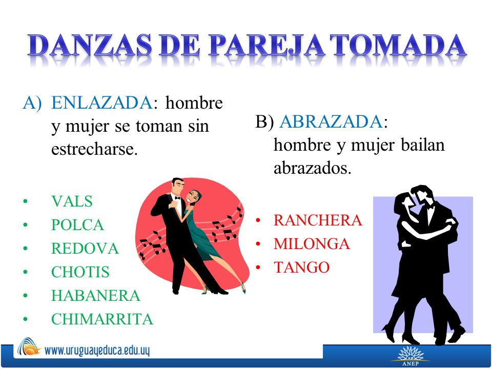 DANZAS DE PAREJA TOMADA