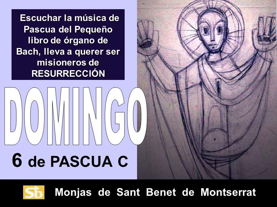 Escuchar la música de Pascua del Pequeño libro de órgano de Bach, lleva a querer ser misioneros de RESURRECCIÓN
