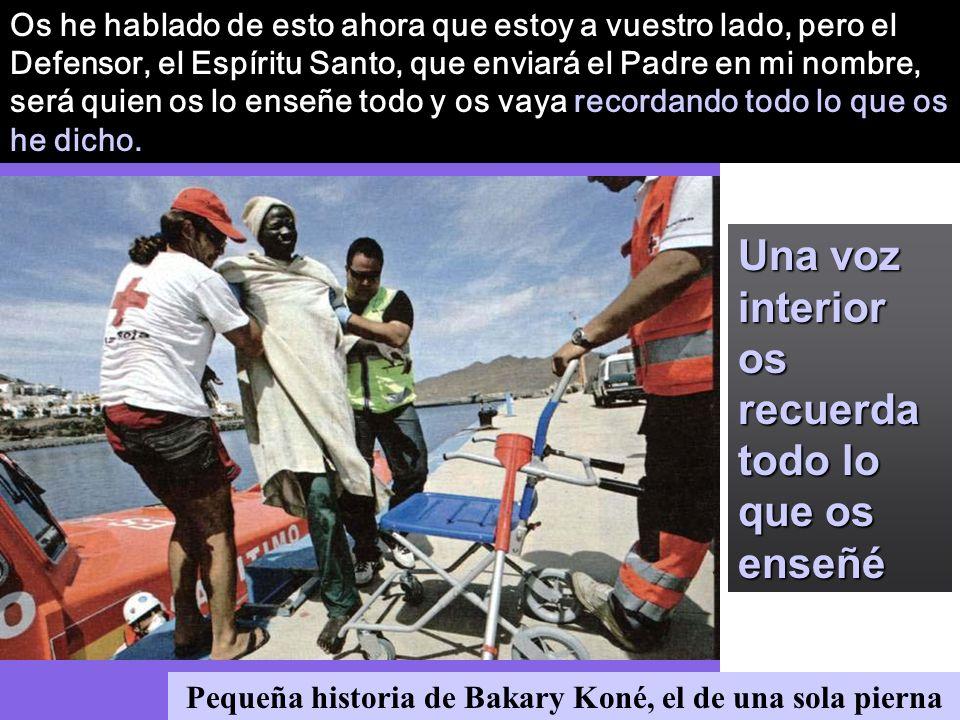 Pequeña historia de Bakary Koné, el de una sola pierna