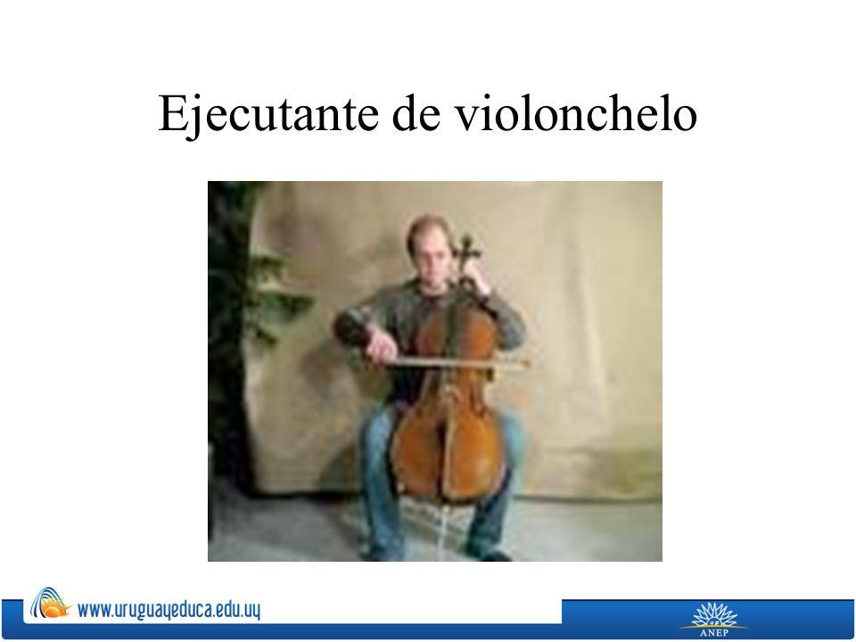 Ejecutante de violonchelo