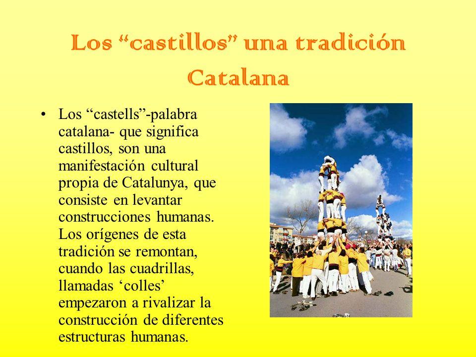 Los castillos una tradición Catalana