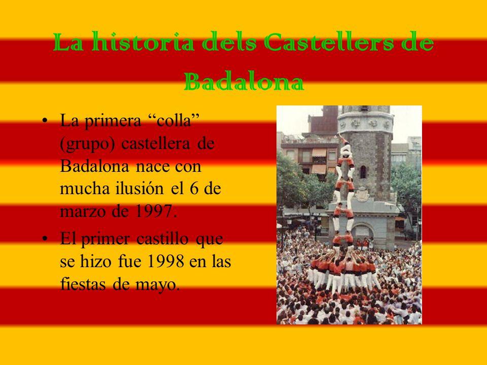 La historia dels Castellers de Badalona