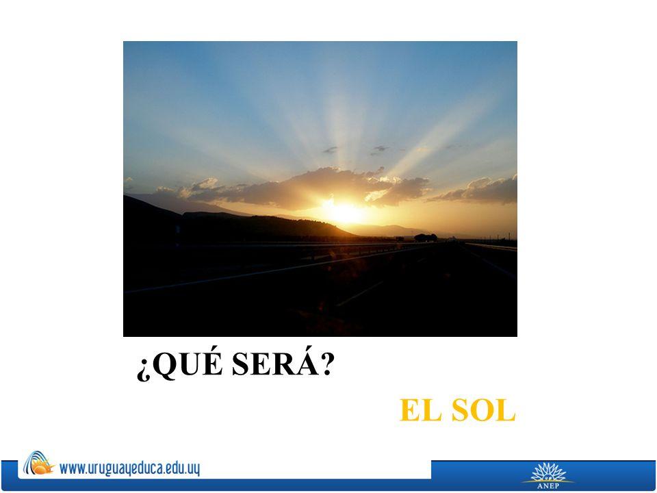 ¿QUÉ SERÁ EL SOL