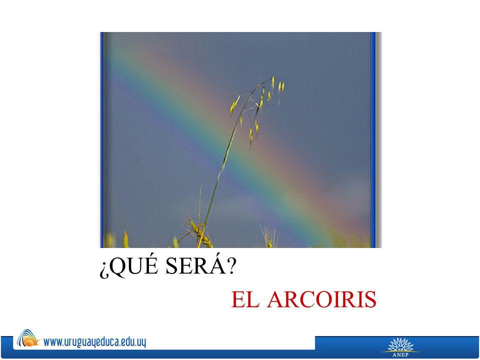 ¿QUÉ SERÁ EL ARCOIRIS