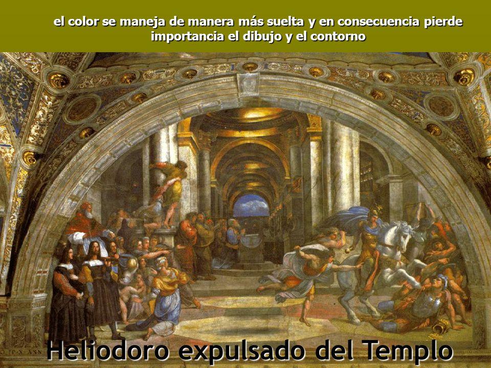 Heliodoro expulsado del Templo