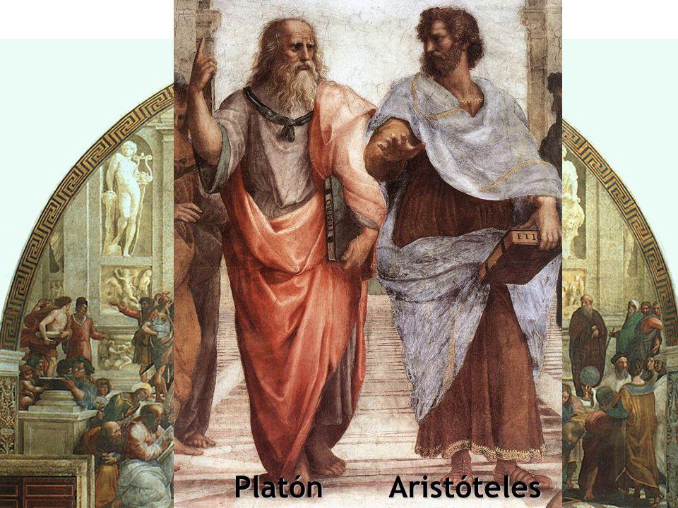 Escuela de Atenas Platón Aristóteles