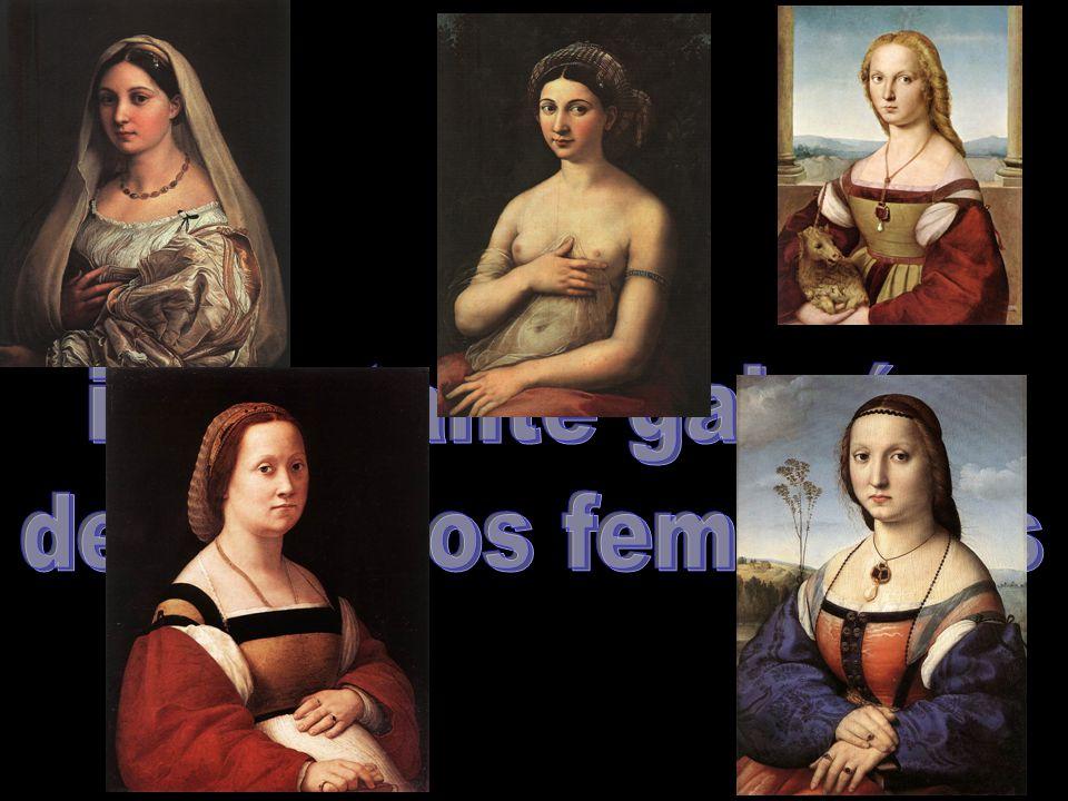 importante galería de retratos femeninos