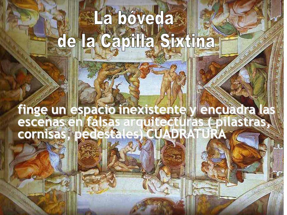 La bóveda de la Capilla Sixtina