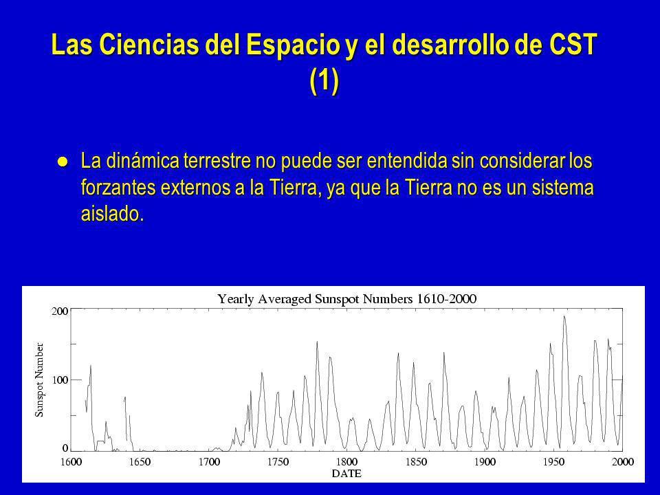 Las Ciencias del Espacio y el desarrollo de CST (1)