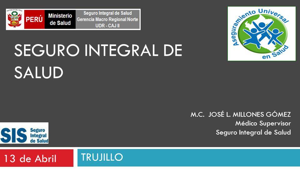 SEGURO INTEGRAL DE SALUD