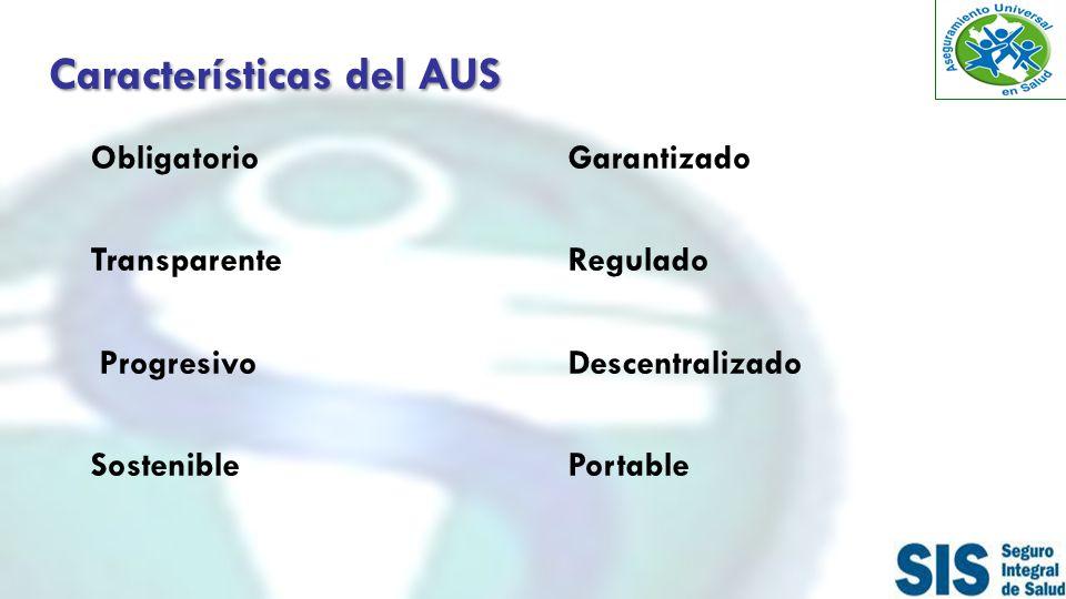 Características del AUS