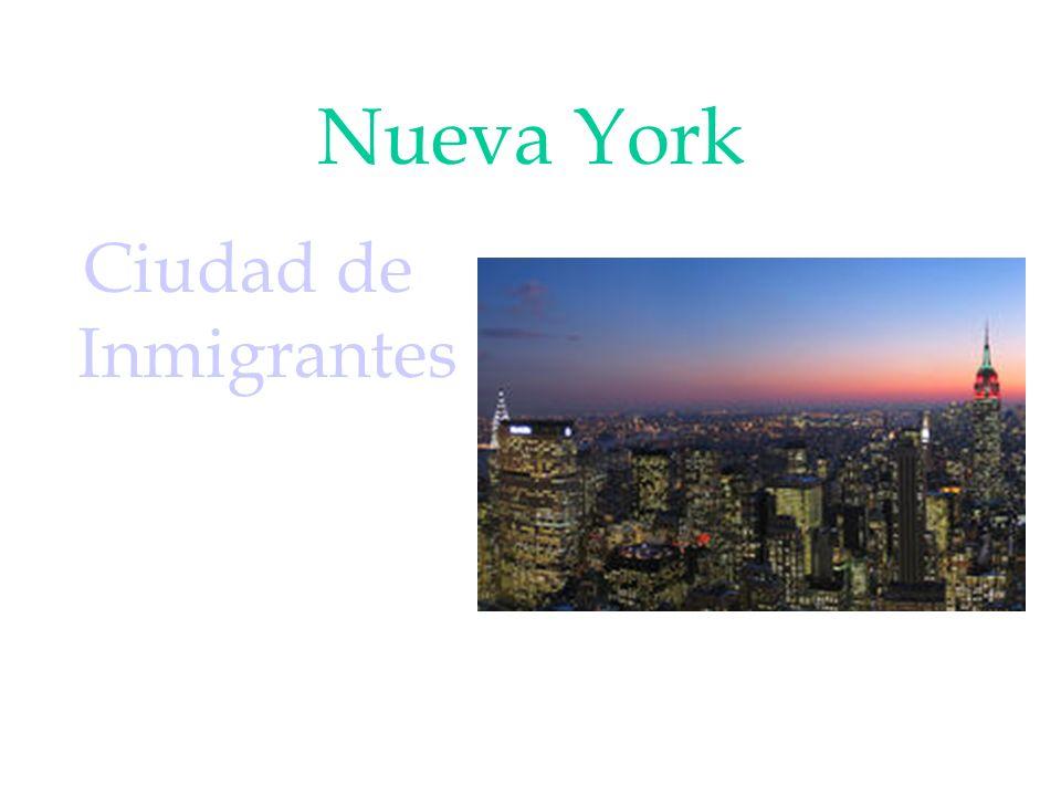 Nueva York Ciudad de Inmigrantes