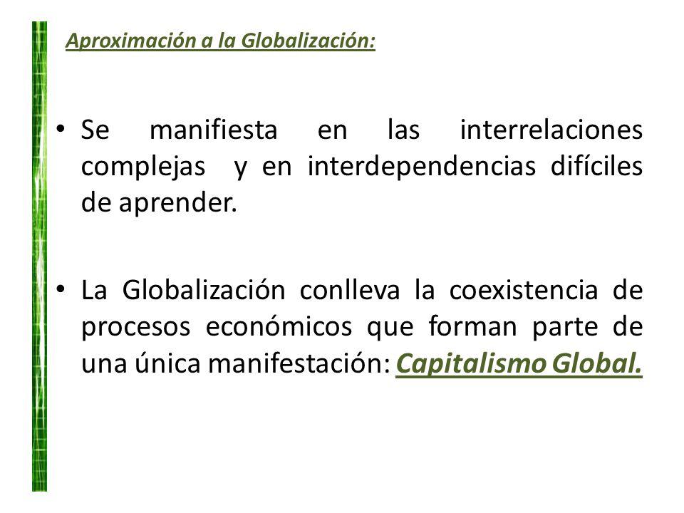 Aproximación a la Globalización: