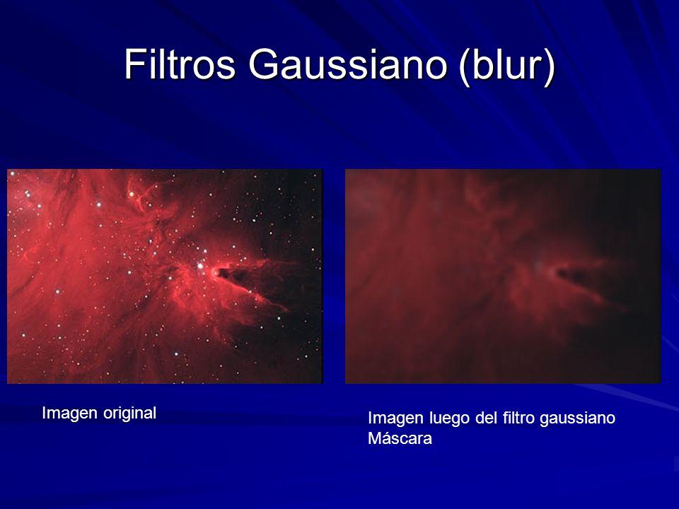 Filtros Gaussiano (blur)