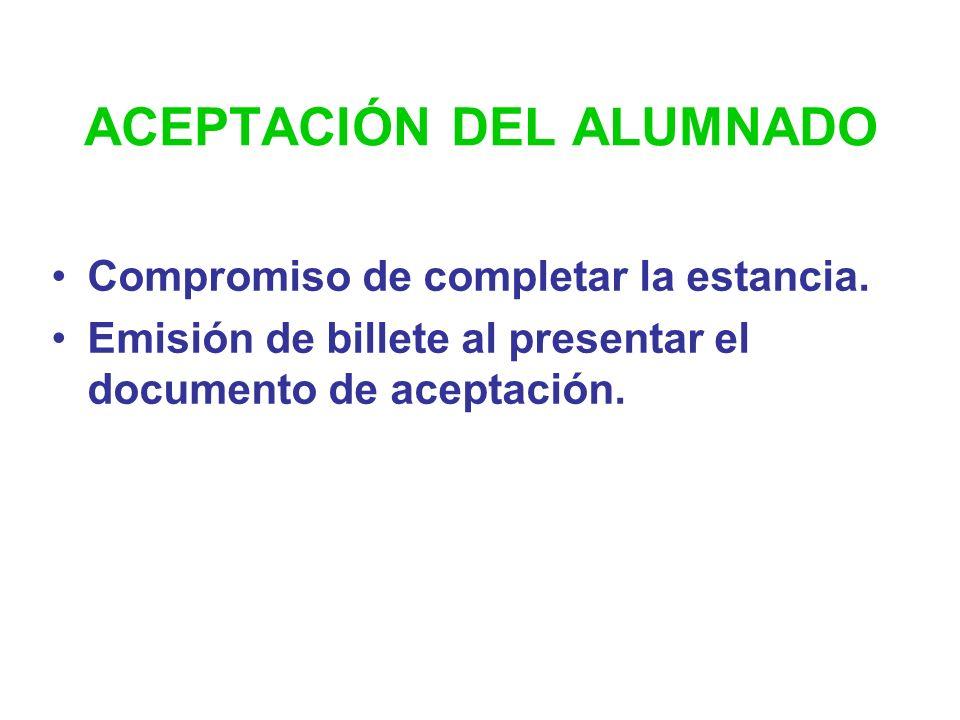ACEPTACIÓN DEL ALUMNADO