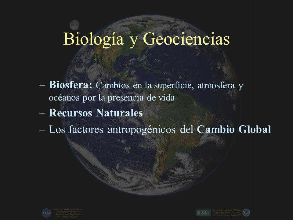 Biología y Geociencias