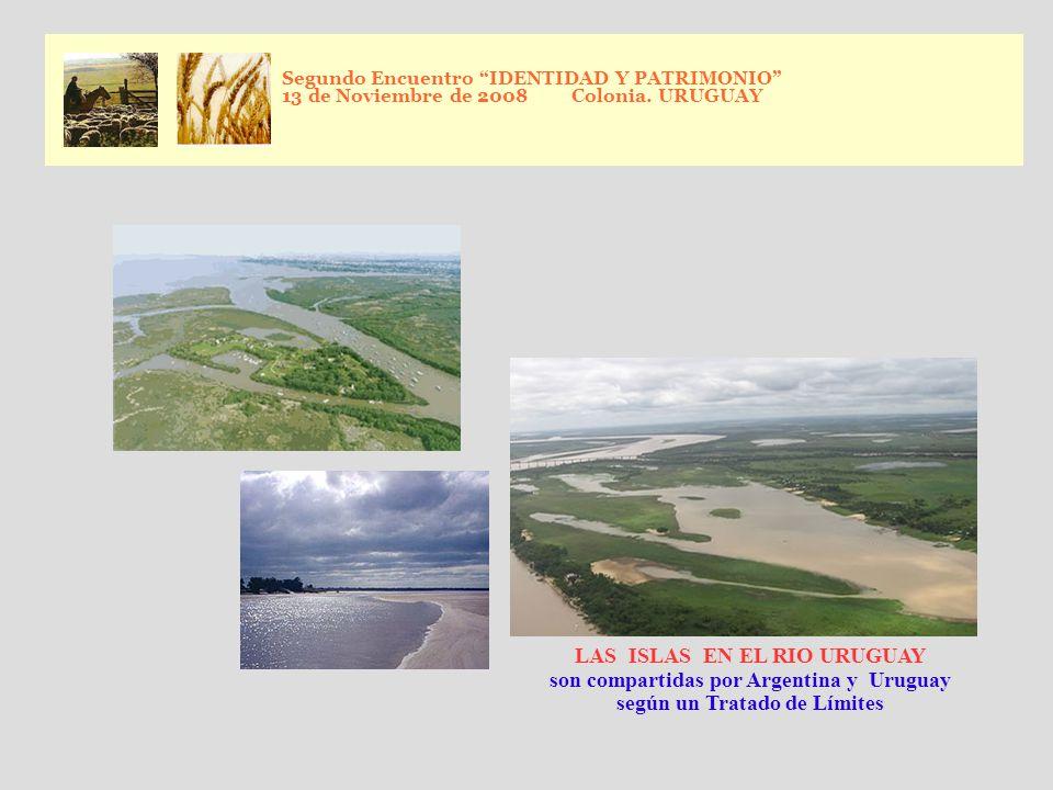 LAS ISLAS EN EL RIO URUGUAY son compartidas por Argentina y Uruguay