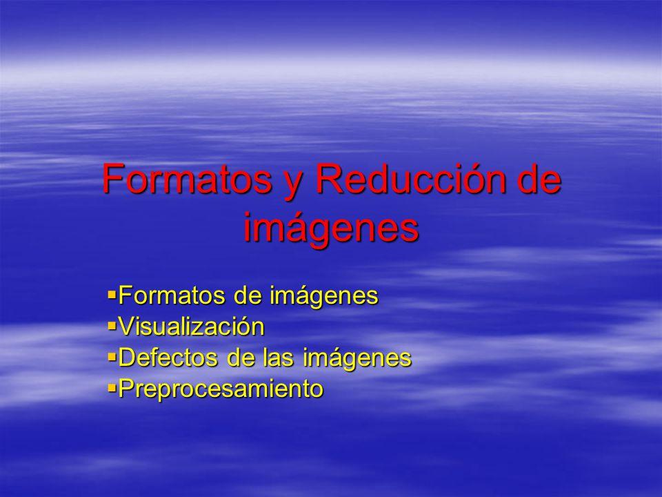 Formatos y Reducción de imágenes