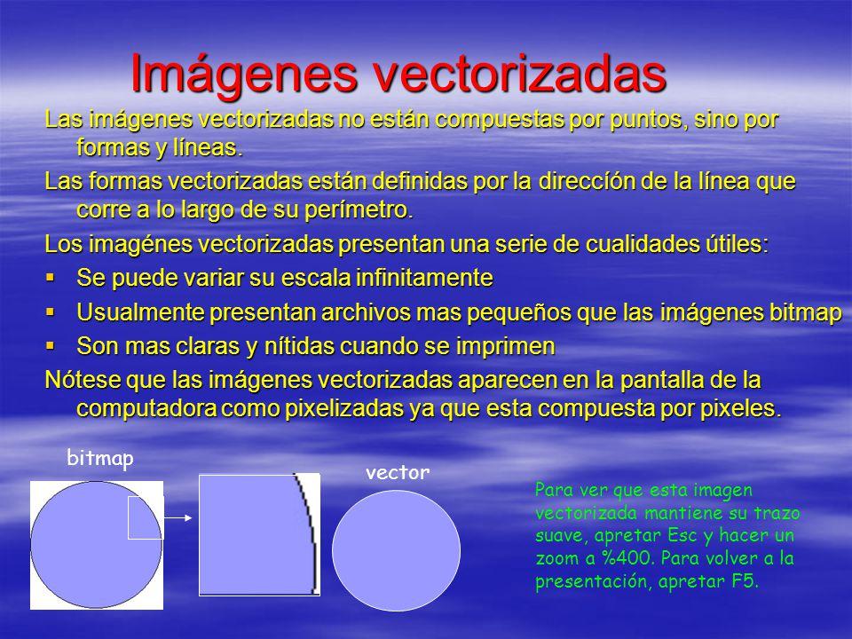 Imágenes vectorizadas