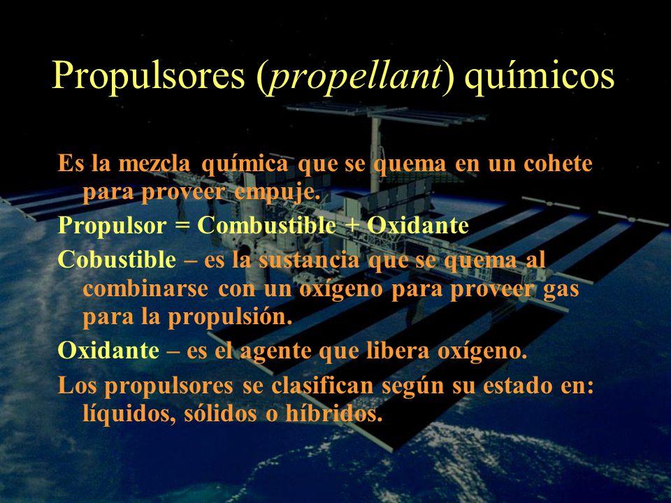 Propulsores (propellant) químicos