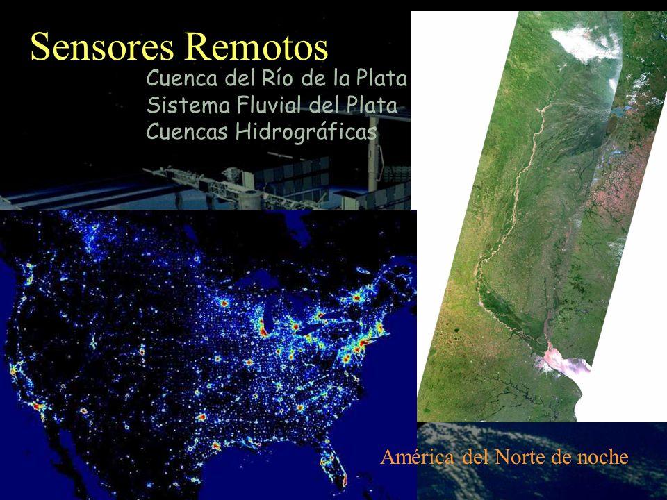 América del Norte de noche