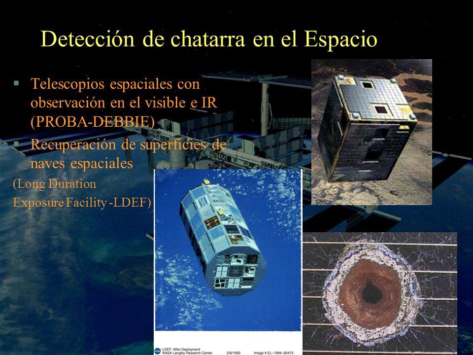 Detección de chatarra en el Espacio