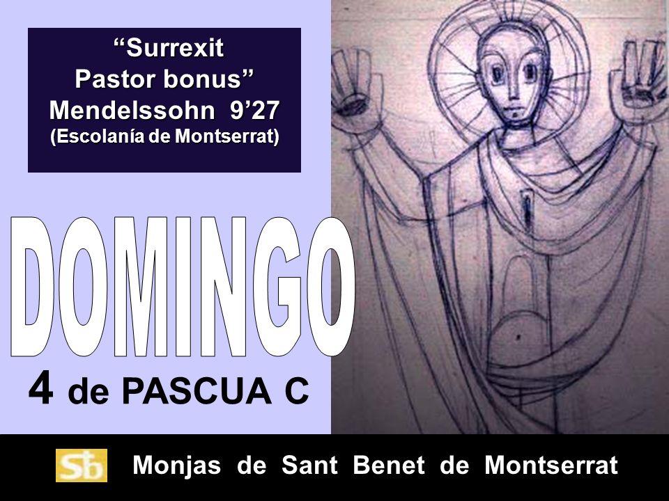 Surrexit Pastor bonus Mendelssohn 9'27 (Escolanía de Montserrat)