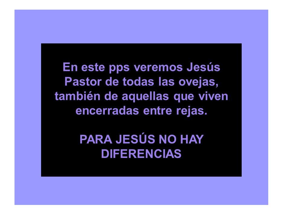 PARA JESÚS NO HAY DIFERENCIAS