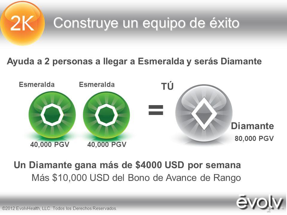 = Construye un equipo de éxito TÚ Diamante