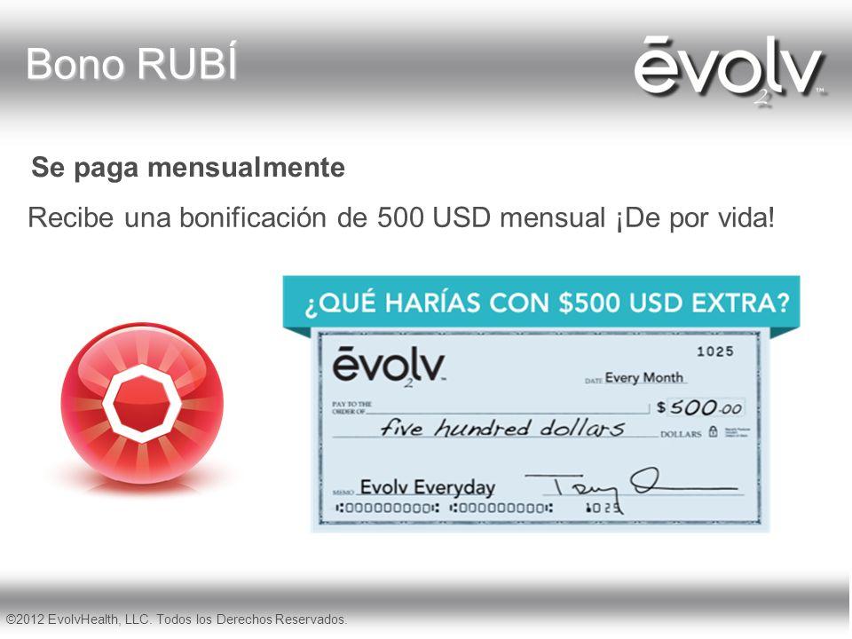 Bono RUBÍ Recibe una bonificación de 500 USD mensual ¡De por vida!