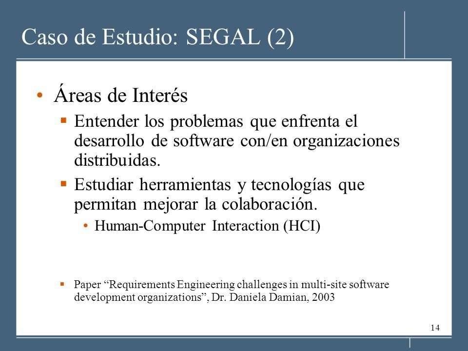 Caso de Estudio: SEGAL (2)