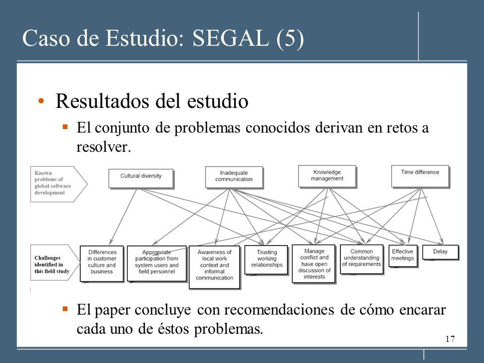 Caso de Estudio: SEGAL (5)
