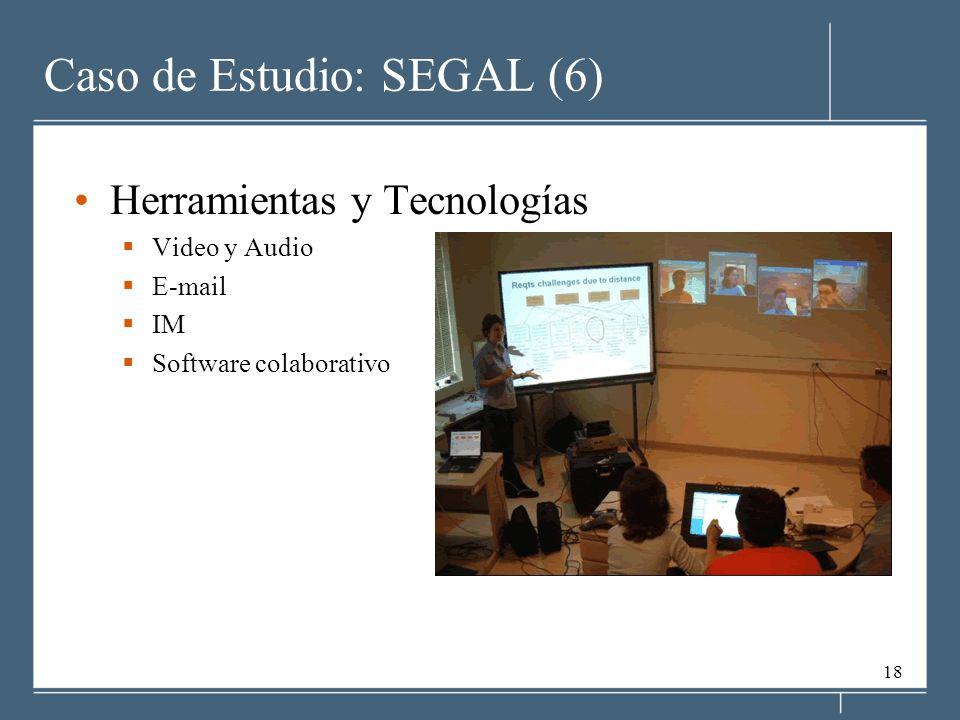 Caso de Estudio: SEGAL (6)