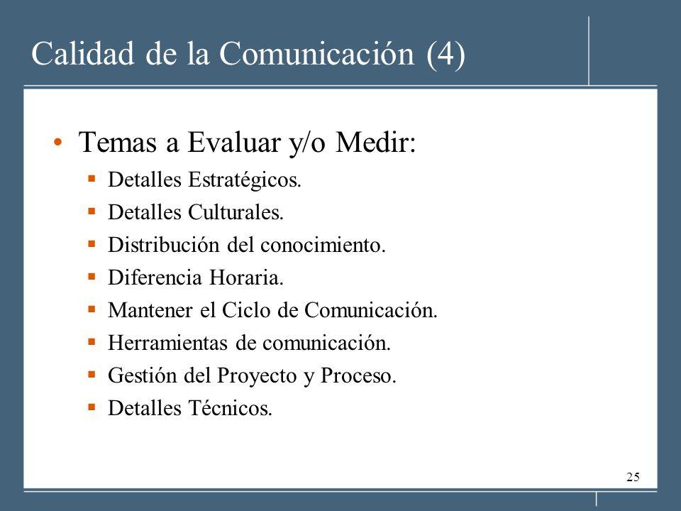 Calidad de la Comunicación (4)
