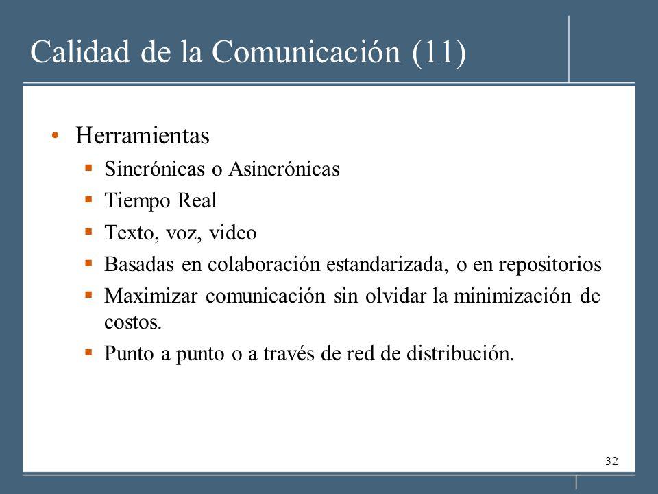 Calidad de la Comunicación (11)