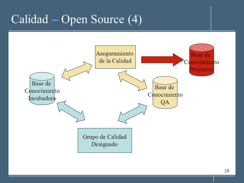 Calidad – Open Source (4)