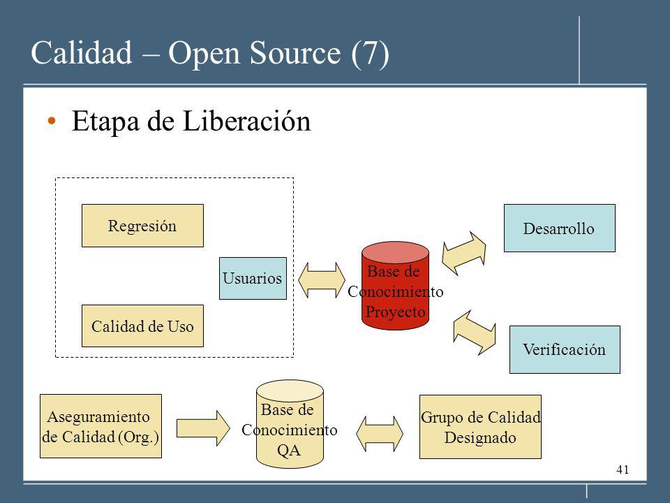 Calidad – Open Source (7)