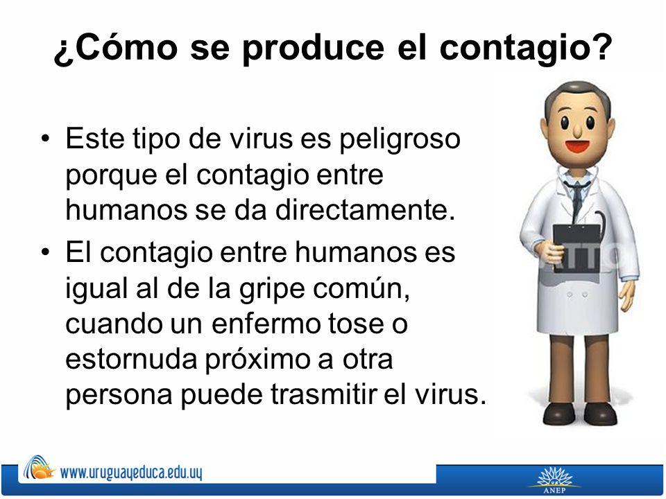 ¿Cómo se produce el contagio