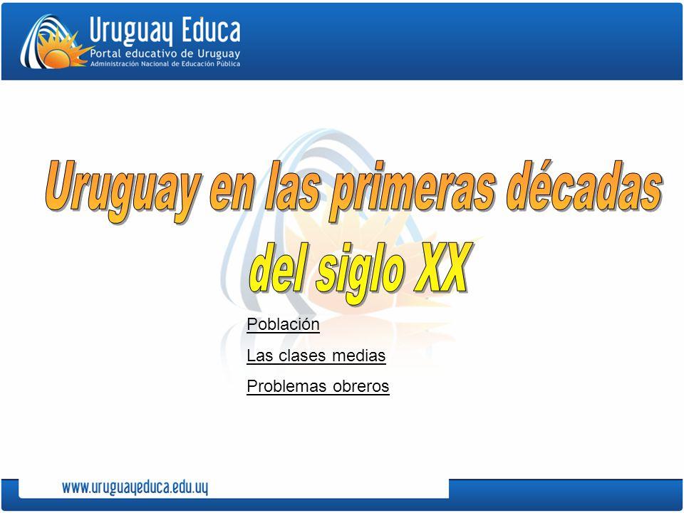 Uruguay en las primeras décadas