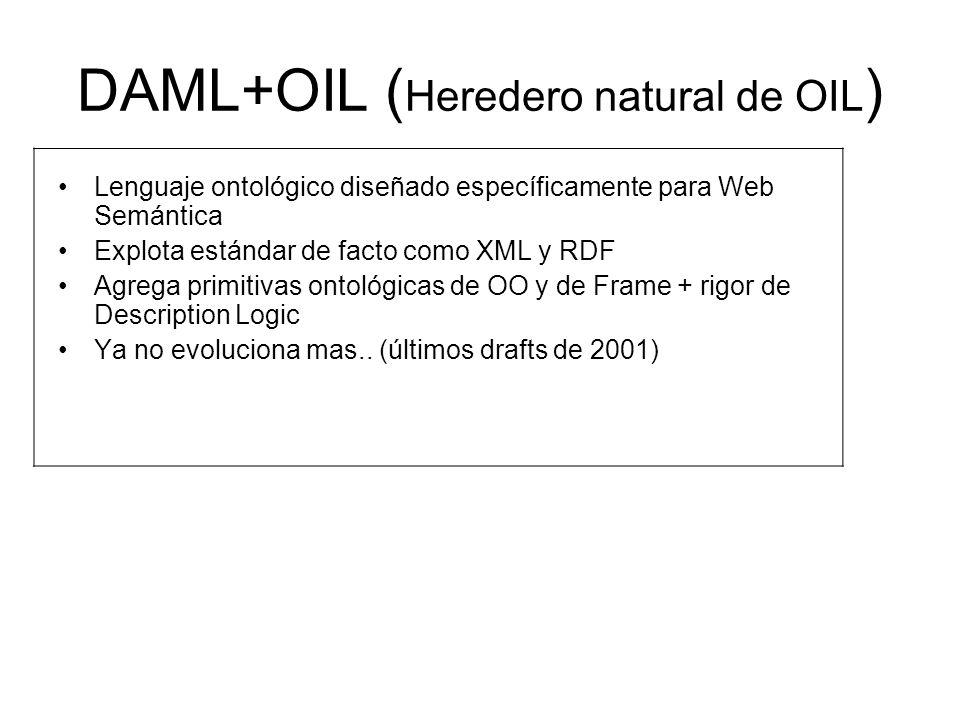 DAML+OIL (Heredero natural de OIL)
