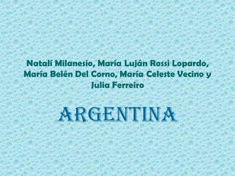 Natalí Milanesio, María Luján Rossi Lopardo, María Belén Del Corno, María Celeste Vecino y Julia Ferreiro