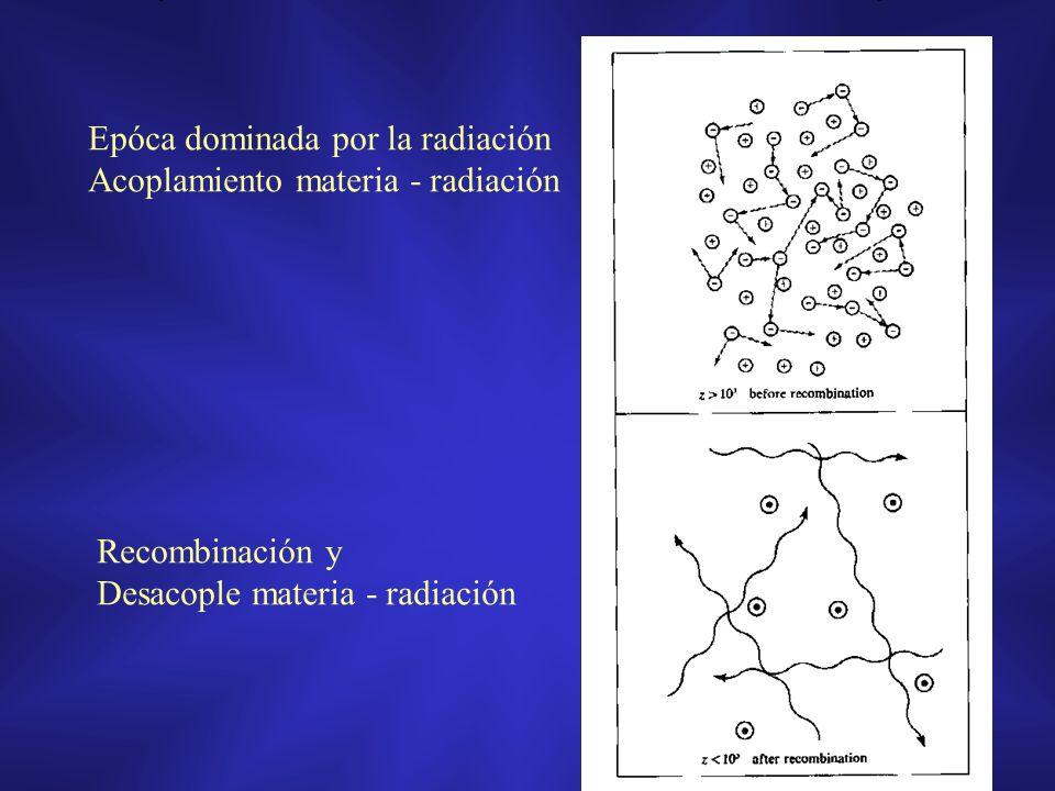 Epóca dominada por la radiación