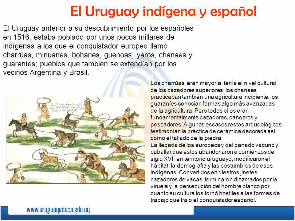 El Uruguay indígena y español