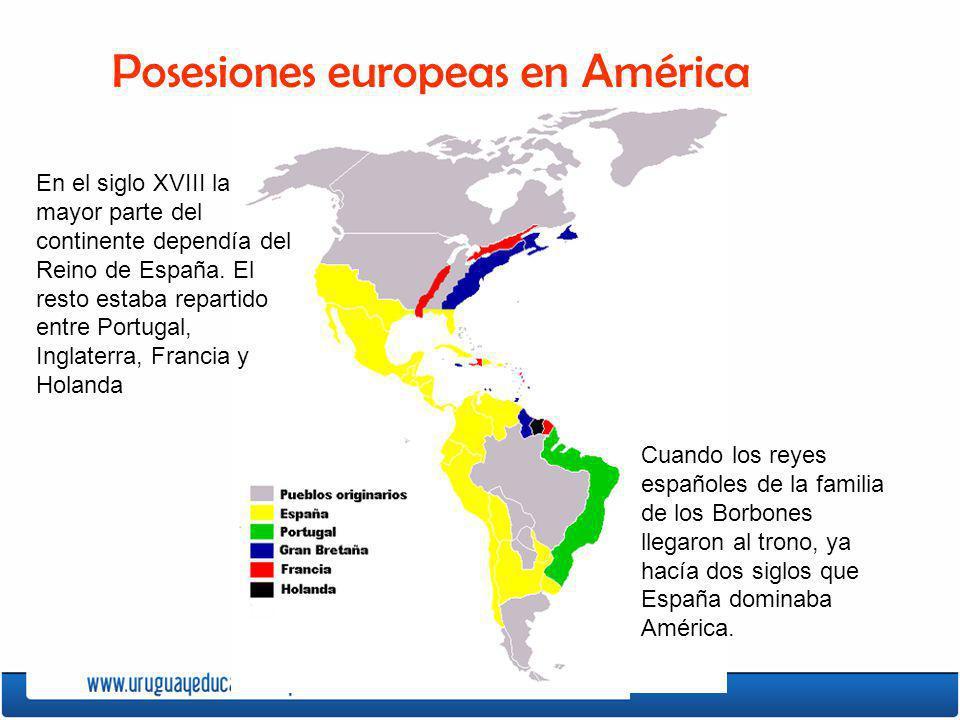 Posesiones europeas en América