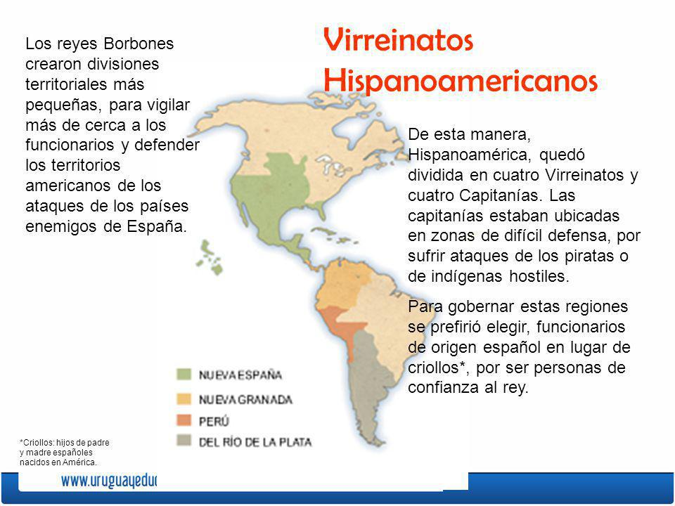 Virreinatos Hispanoamericanos