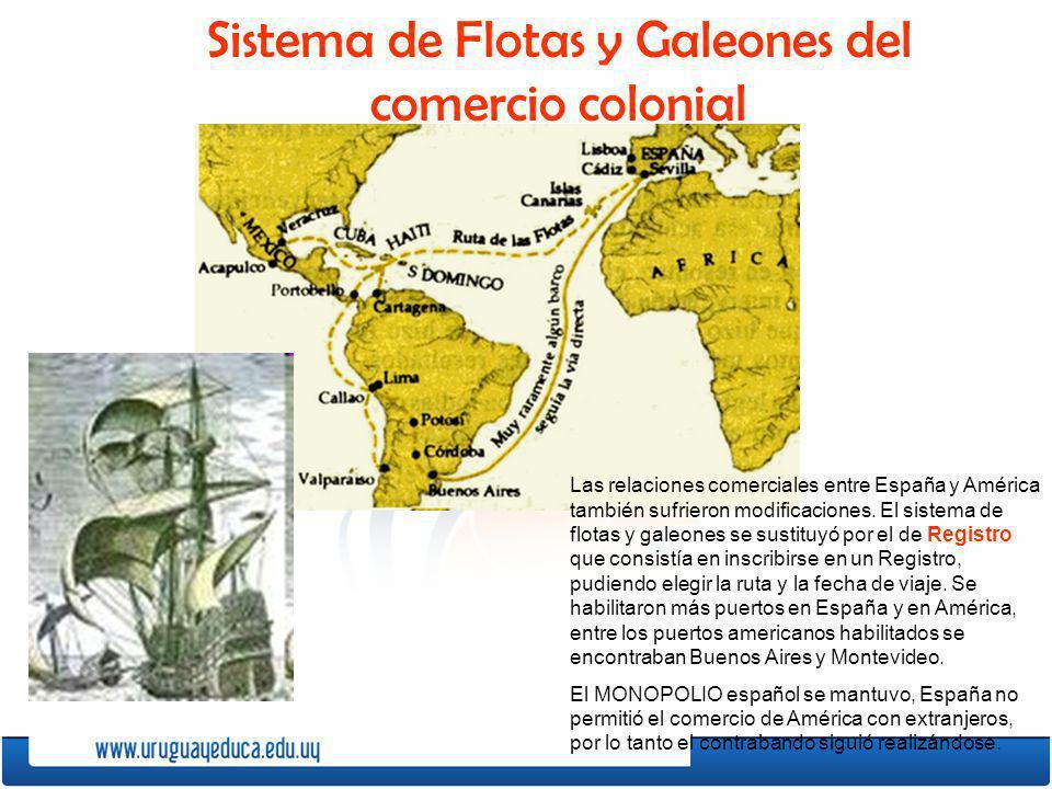 Sistema de Flotas y Galeones del comercio colonial
